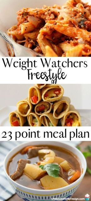 Watchers meal plan for Freestyle will help you stay on track. This meal plan includes freestyle SmartPoints for Weight Watchers recipes and is family friendly.