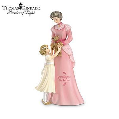 Thomas Kinkade Figurines Collection | ... : Thomas Kinkade A Grandmother's Love Collectible Figurine Collection