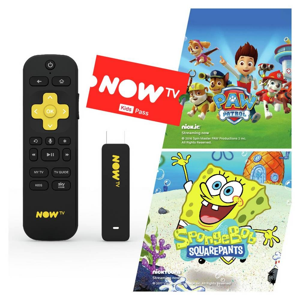 Buy Now Tv Stick With 3 Month Sky Kids Pass Smart Tv Boxes
