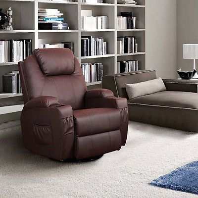 Erfect Heated Massage Chair Home Office Recliner Sofa PU Leather Lounge Sofa Nice Design
