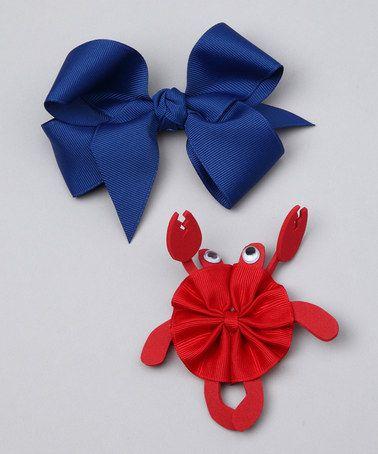 Crab hair bow Crabby hair bow Toddler hair bow Red Crab hair bow Crab outfit hair bow Crabby baby hair bow Crab toddler hair bow Crab