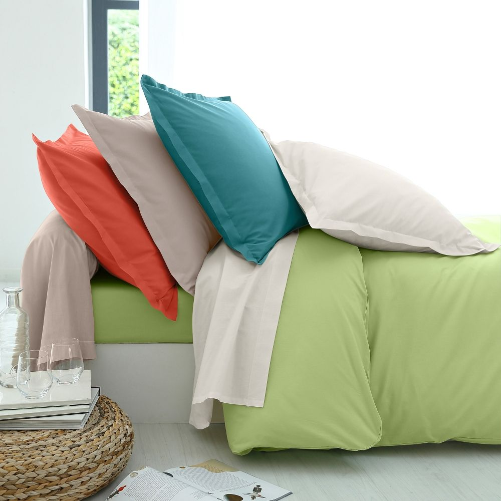 linge de lit en coton issu de l 39 agriculture biologique collection blancheporte maison linge. Black Bedroom Furniture Sets. Home Design Ideas