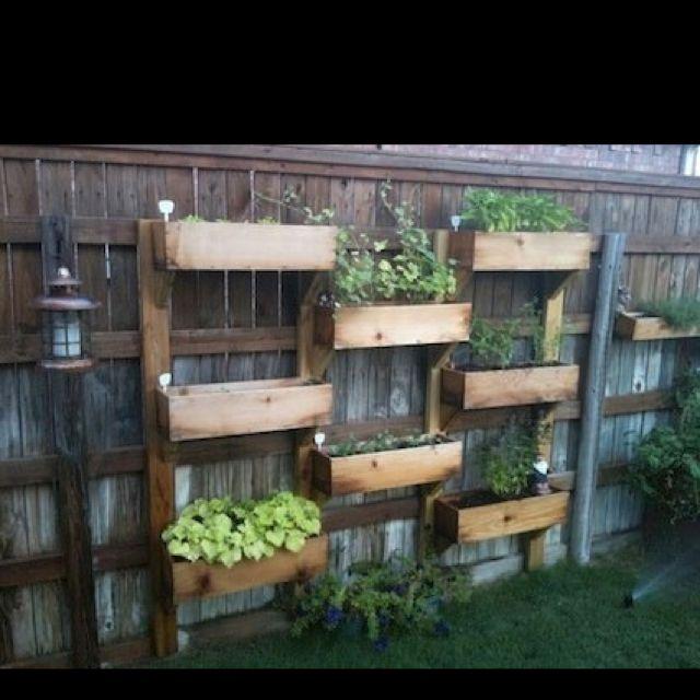 20 Vertical Vegetable Garden Ideas: 25 Ideas For Decorating Your Garden Fence