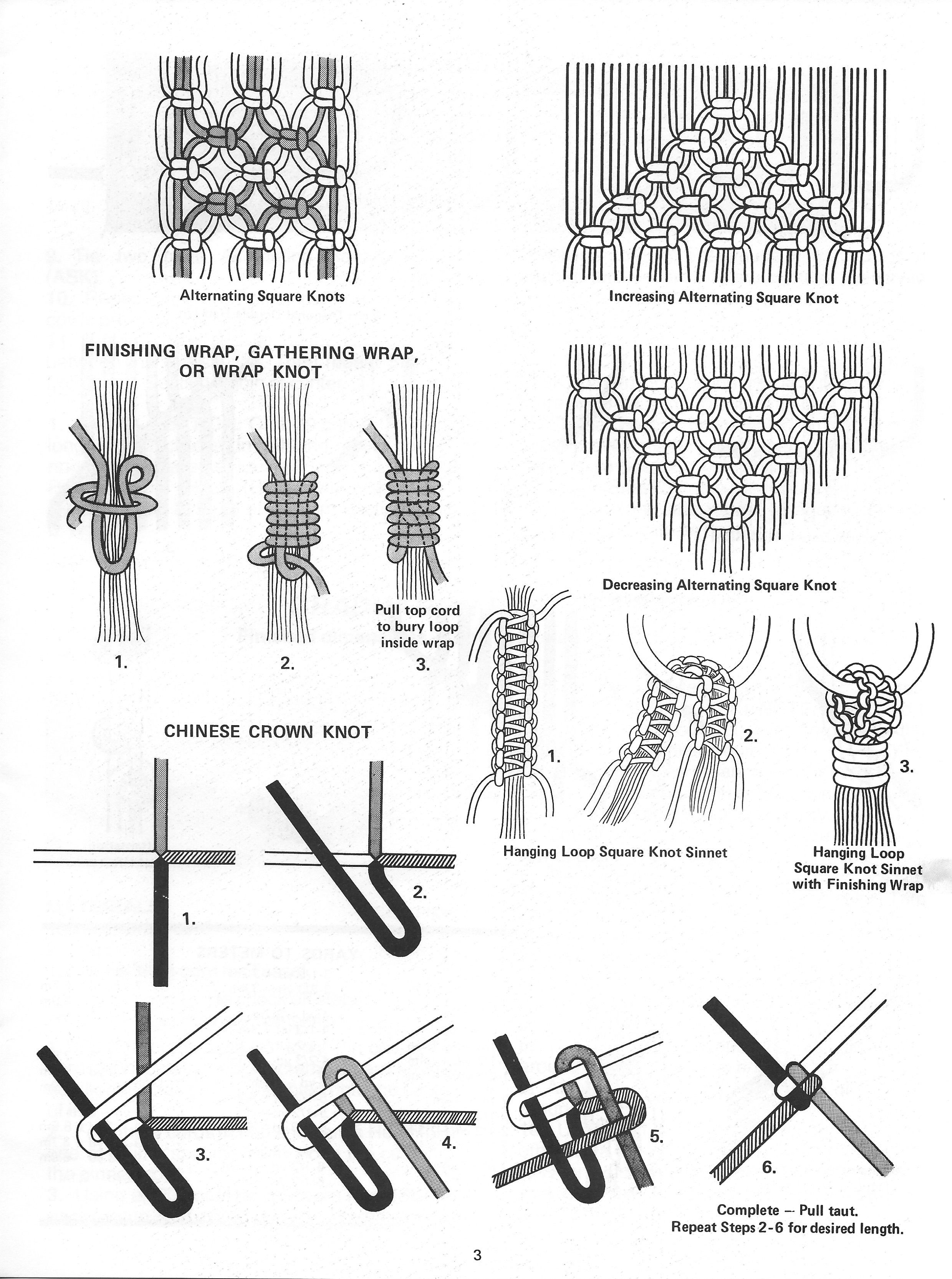 Much Ado About Knotting Macrame Pattern Book Pdf Download