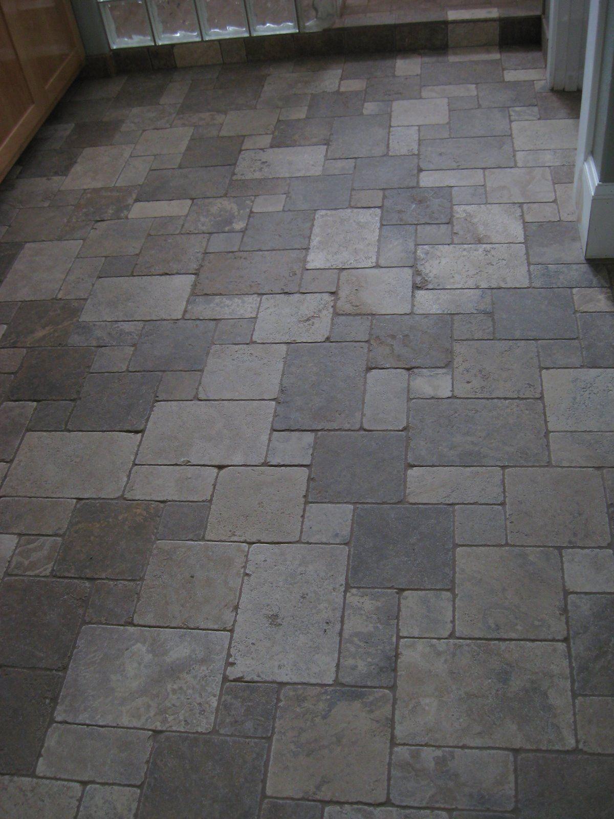 Google Image Result For Ridgelinecustomho In 2020 Patterned Floor Tiles Tile Floor Slate Tile Floor