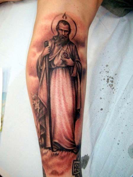 Saint Jude Tattoo Ideas Saint jude tattoo ideas st   Roses   Tattoos ...