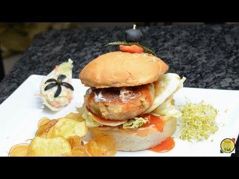 Jakase Burger Veggi Med Billeder