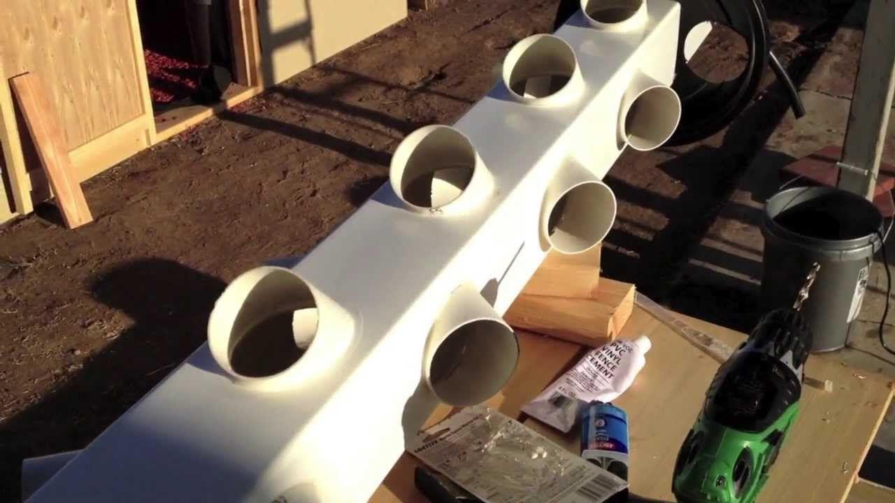 Building A Hydroponic Vertical Garden Gardens