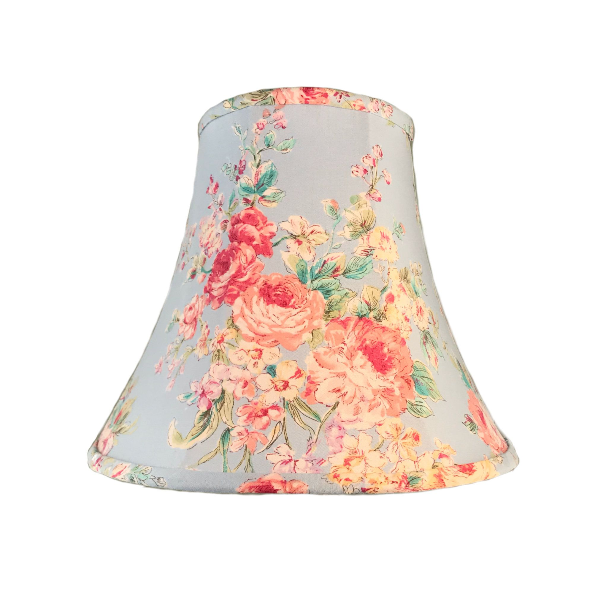 Shabby Chic Lamp Shade Floral Lamp Shade Cottage Lamp Shade Blue Lamp Shade Rose Lamp Shade Free S In 2020 Blue Lamp Shade Rose Lamp Shade Shabby Chic Lamp Shades
