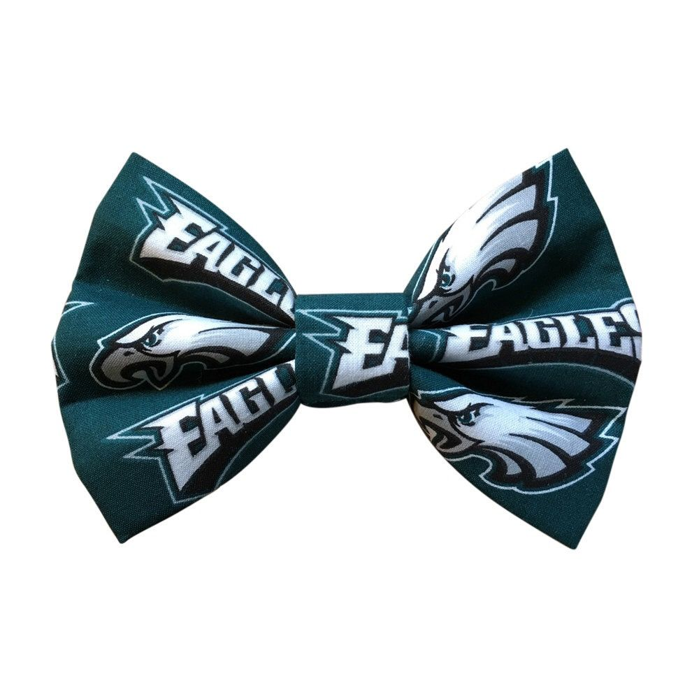 Dog Bow Tie Eagles Large