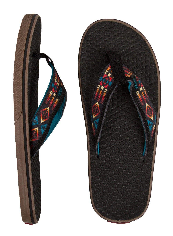 Vans La Costa Sandals - (Nathan Fletcher) Tribal/Black/Gum