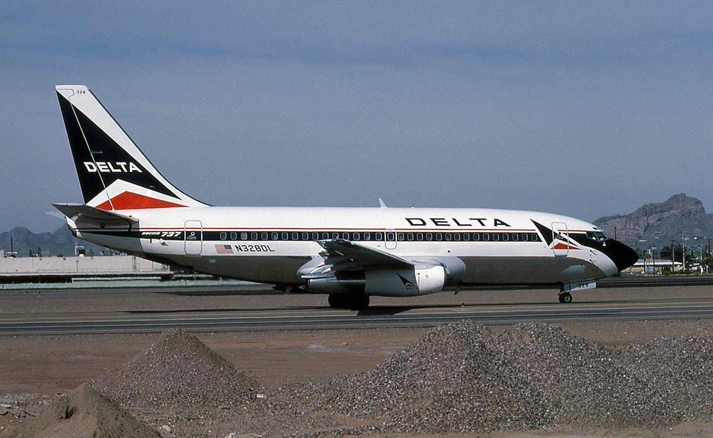 Delta 737200 Boeing aircraft, Aviation, Delta airlines