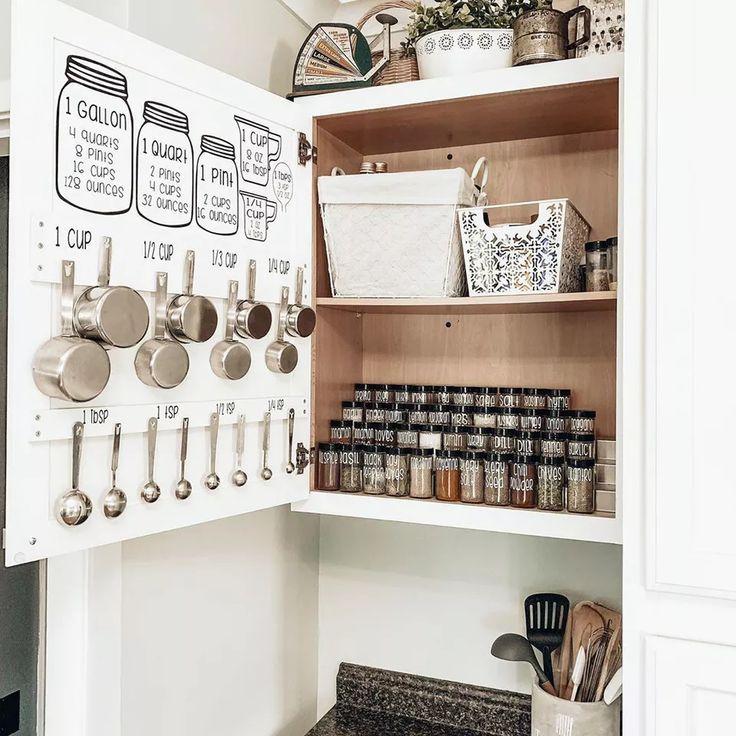 40 Creative Kitchen Organization Ideas