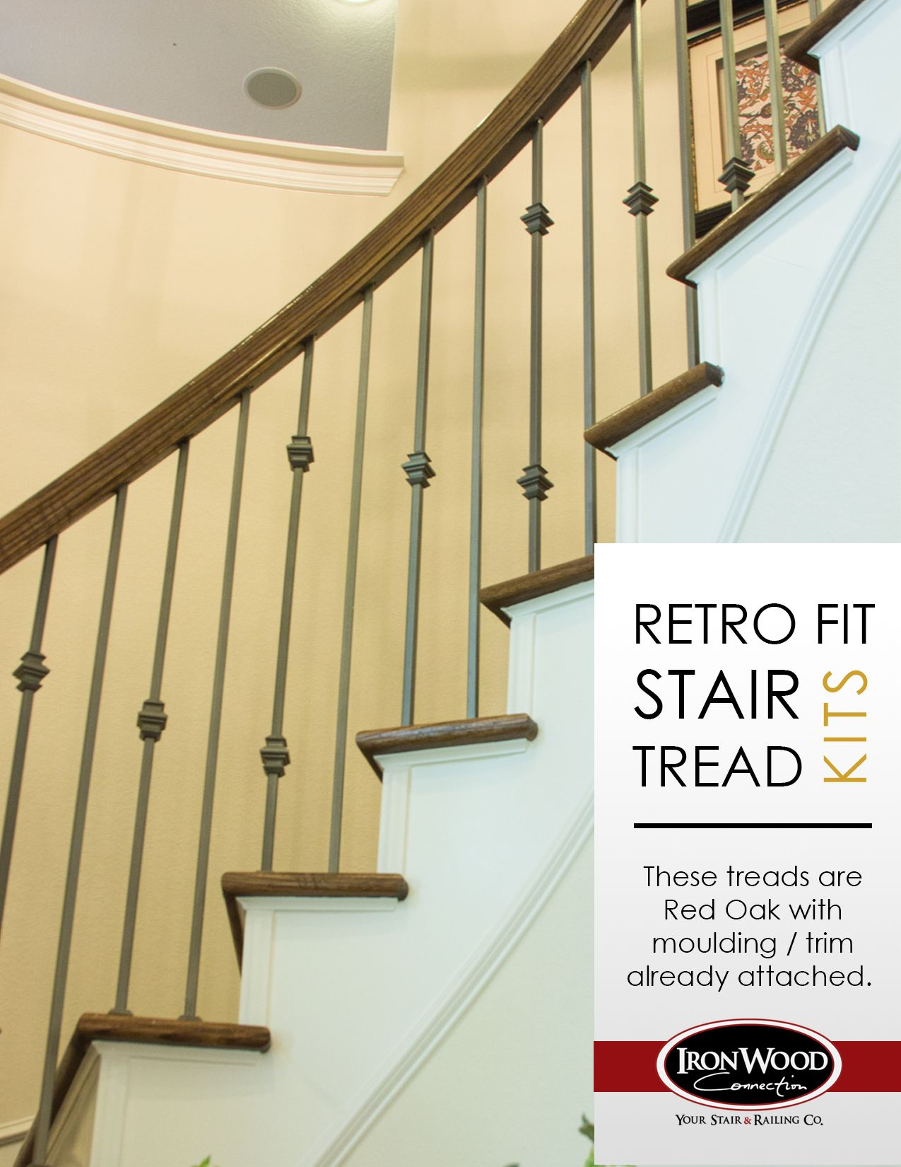 RetroFit Stair Treads Are Used When You Are Removing Carpet From Your  Stairs And Want To