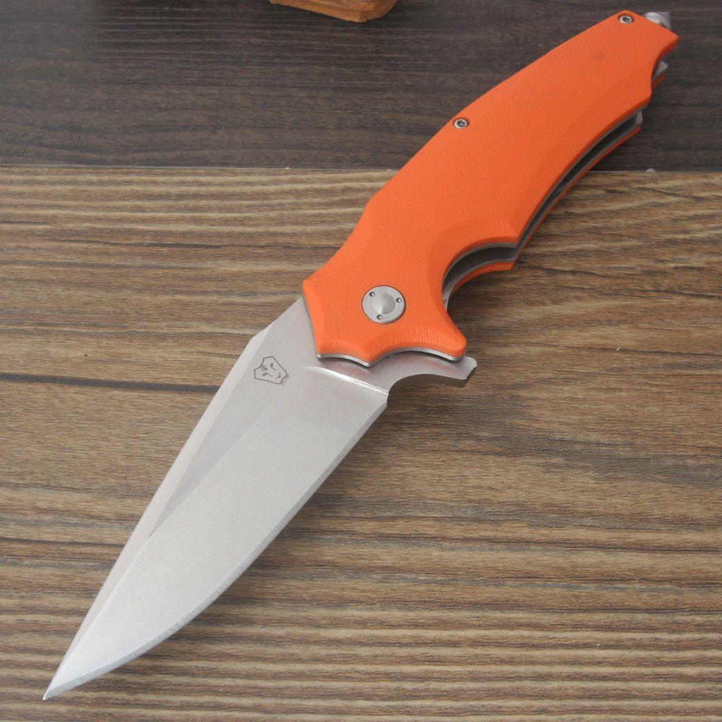 Lionking SW02-OR Klappmesser D2 Stahl Orange G10 Griff Bearing Flipper Survival in Sport, Camping & Outdoor, Werkzeug | eBay