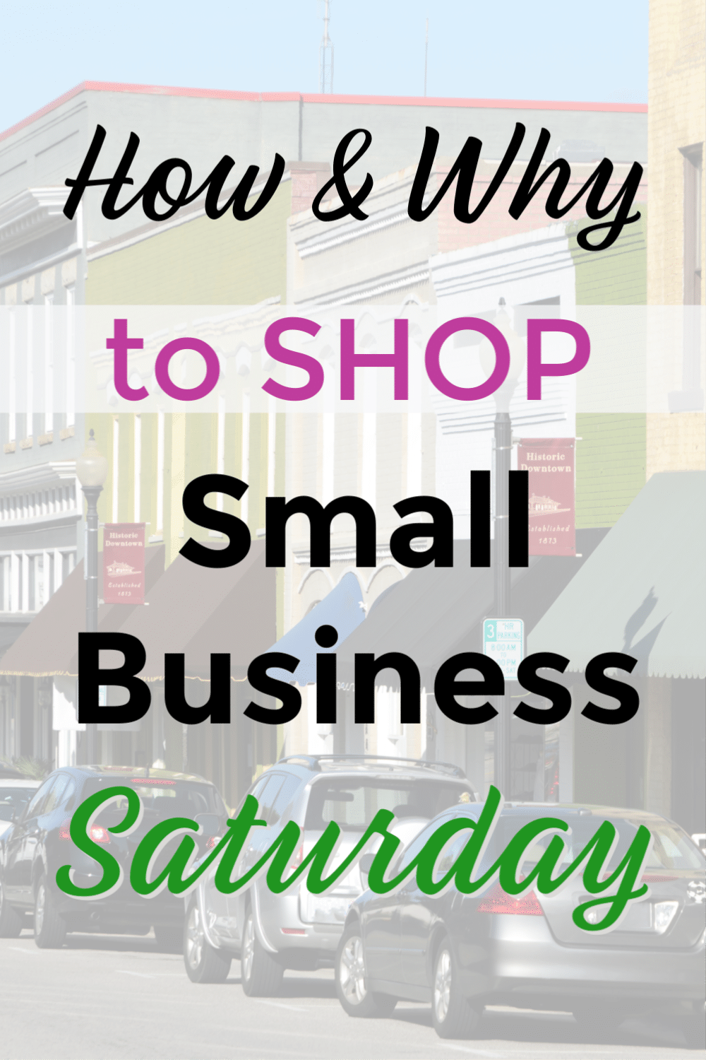 How And Why To Shop Small Business Saturday Small Business Saturday Shop Small Business Saturday Shop Small Business