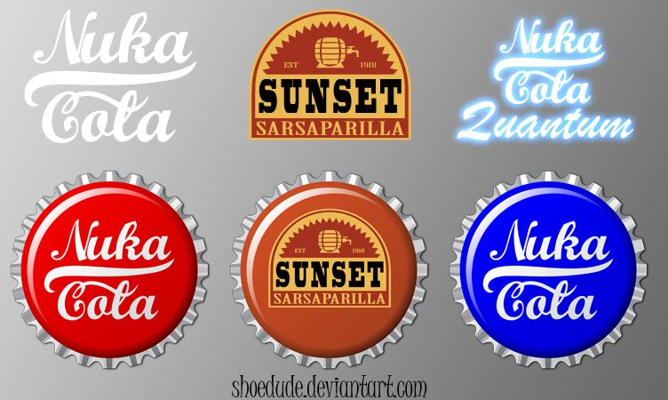 Fallout Bottle Cap Icon Pack By Shoedude On Deviantart Fallout Bottle Caps Bottle Cap Fallout Lore