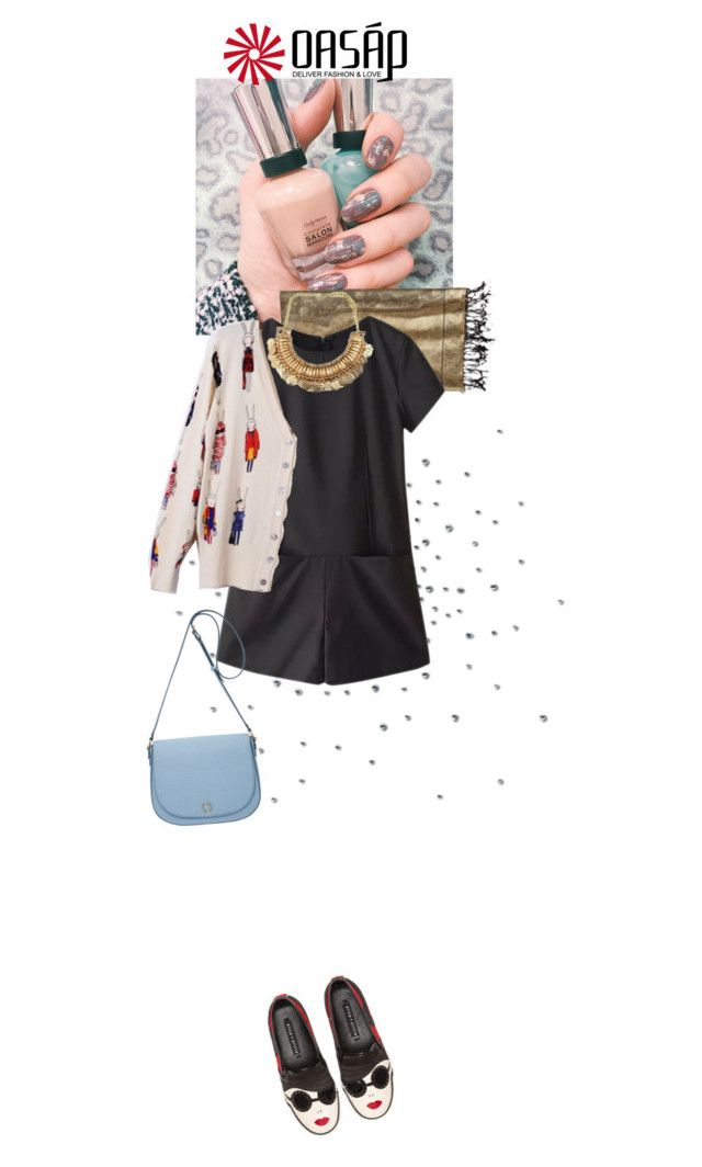 """""""Classy Romper: Oasap"""" by dancingwithyou ❤ liked on Polyvore featuring Tolani, Alice + Olivia and Oroton"""