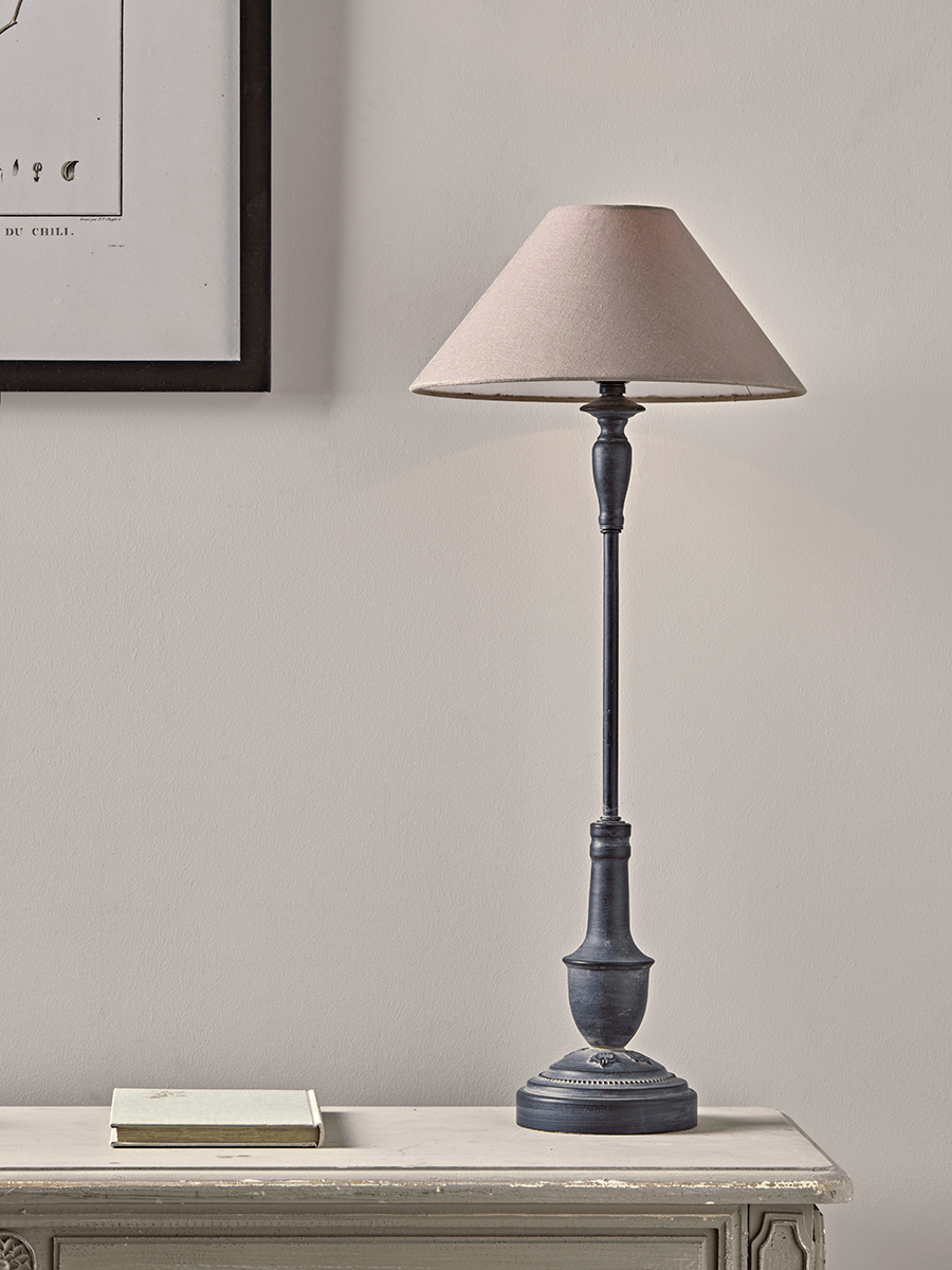Slim Metal Bedside Lamp in 2020 Bedside table lamps