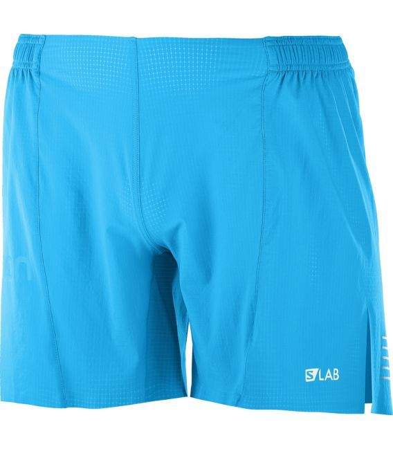 0e00c4fb39 Pantalones running Salomon S-Lab Short 6 M Hombre Azul