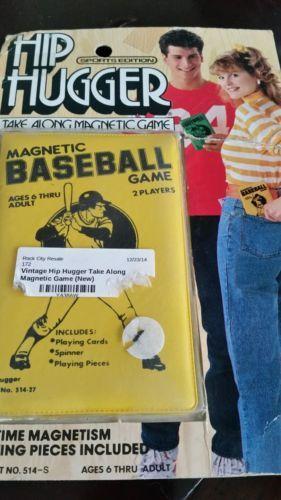 Vintage Hip Hugger Magnetic Game Baseball | eBay