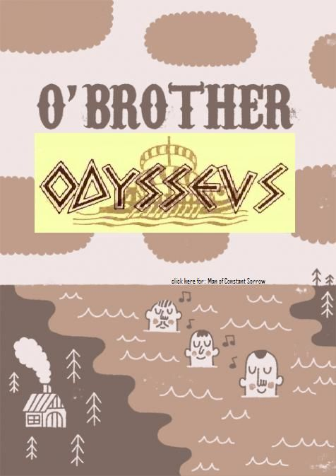 oh brother where art thou parallels to the odyssey