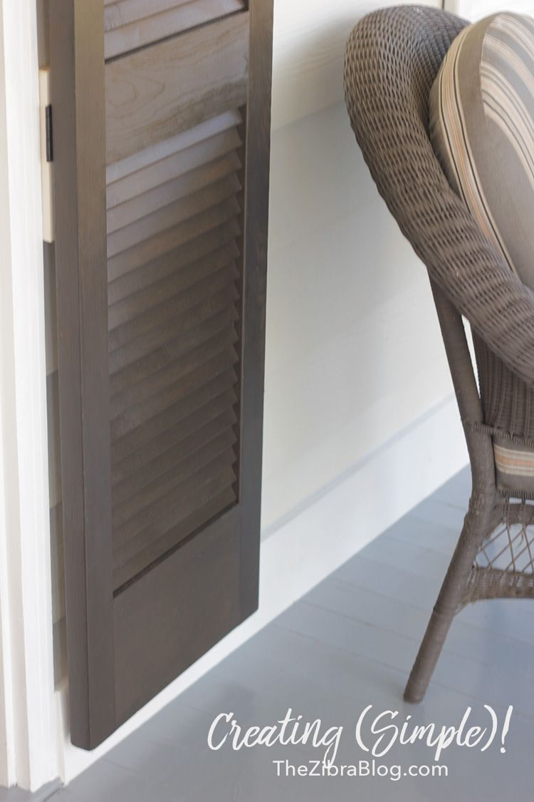 A Winter Porch Refinishing Furniture Winter Porch Room Makeover
