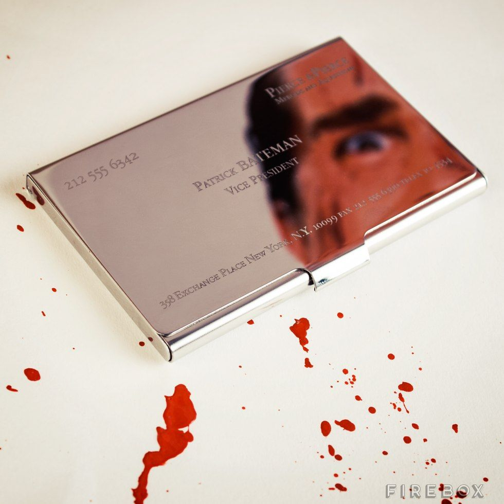 Socially Conveyed Via Welikedthis Co Uk The Uk S Finest Products Patrick Bateman Busines Business Card Case Personal Business Cards Luxury Business Cards