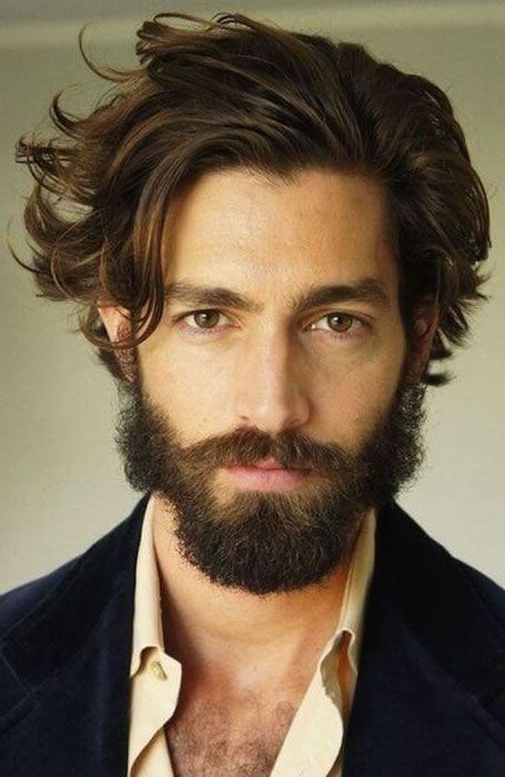 Good The Best Widowu0027s Peak Hairstyles For Men: Bedheaded U0026 Beardy  #menshairstyles #menshair #