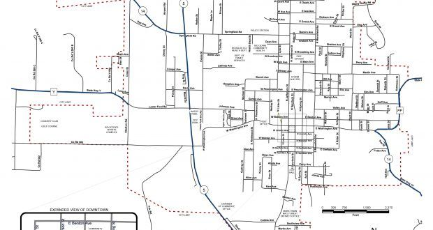 City of Ava Releases New Street Name Map – Douglas County Herald