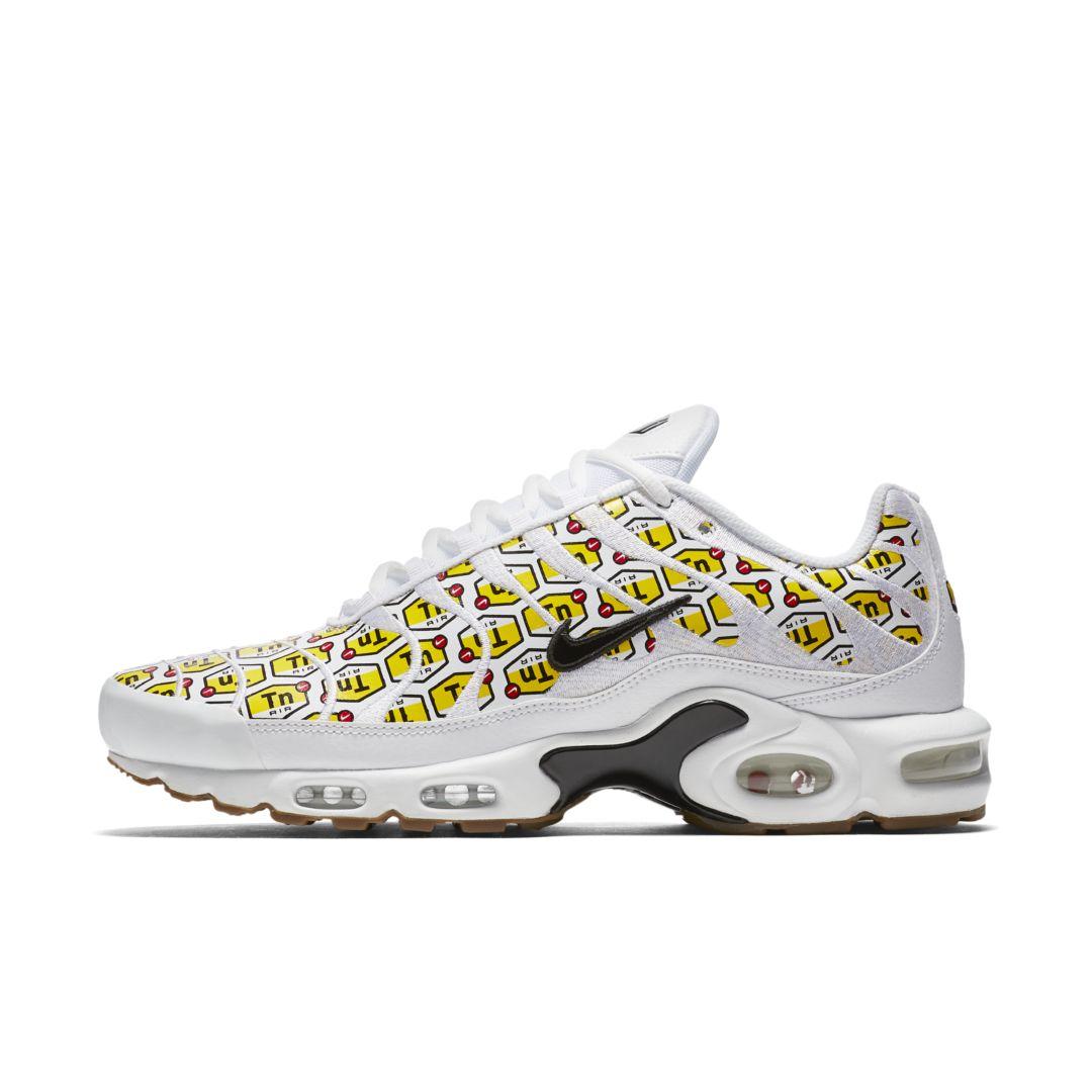 Nike Air Max Plus Qs Men S Shoe Size 11 5 White Nike Air Max Plus Men Shoes Size Shoes Mens