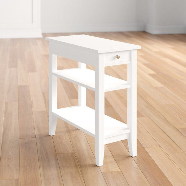 inman end table with storage in 2020  living room plants