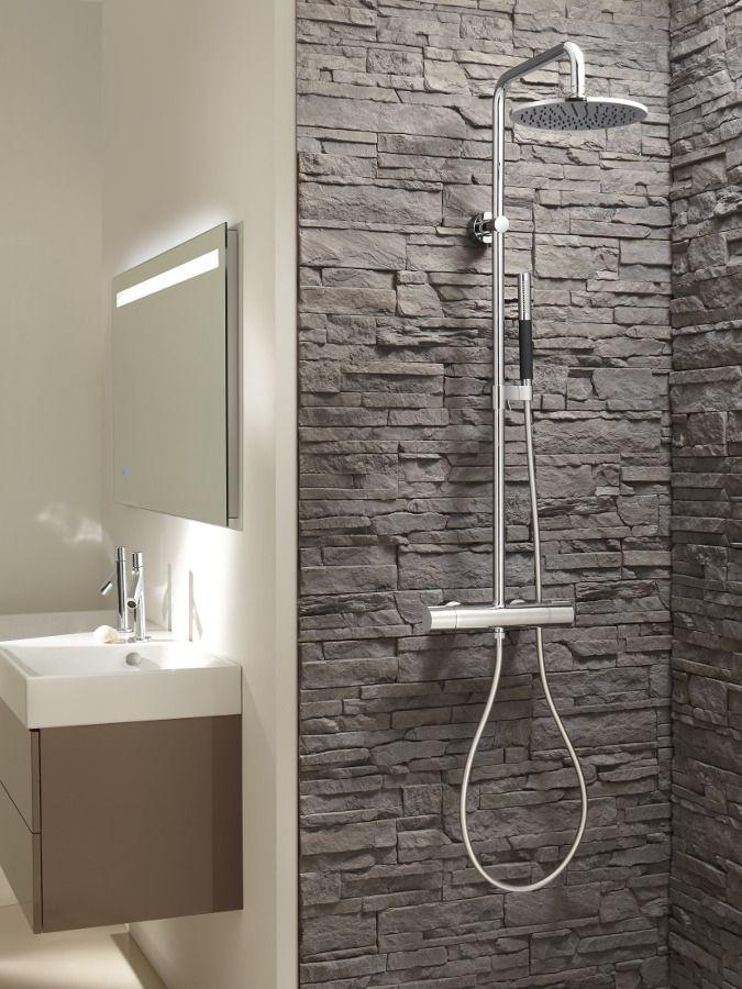 Robinetterie de douche : la colonne de douche