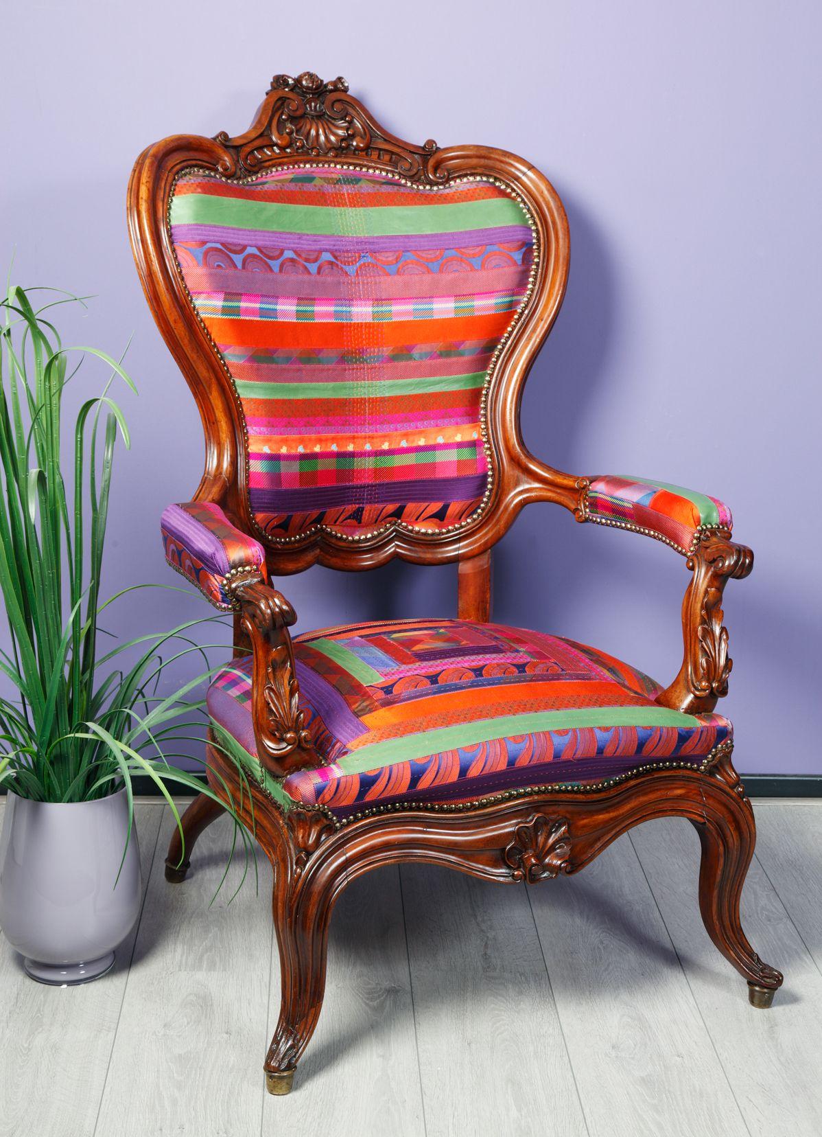 antieke stoelen bekleden