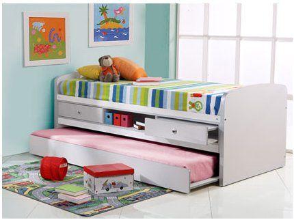 cama para el cuarto de la nia que permite amigas y rincon de lectura