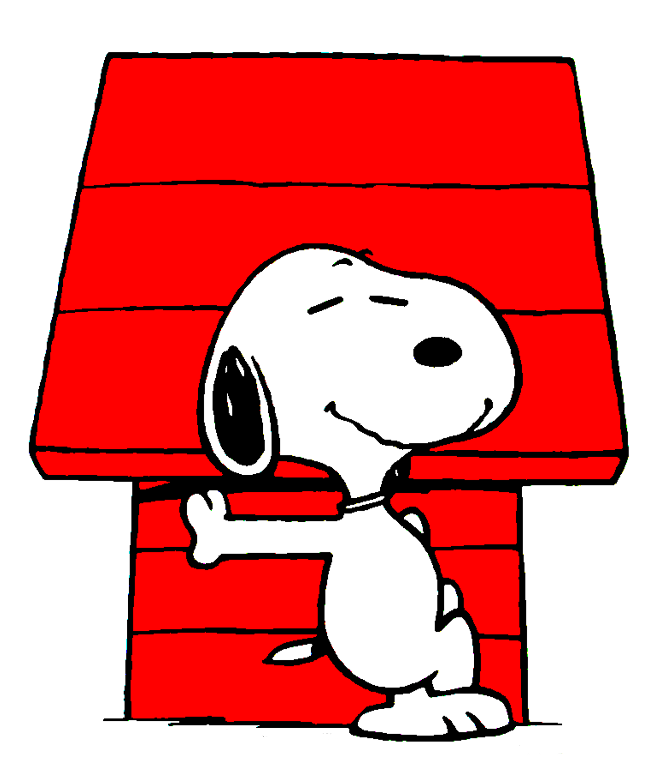 Snoopy Dog House Picture