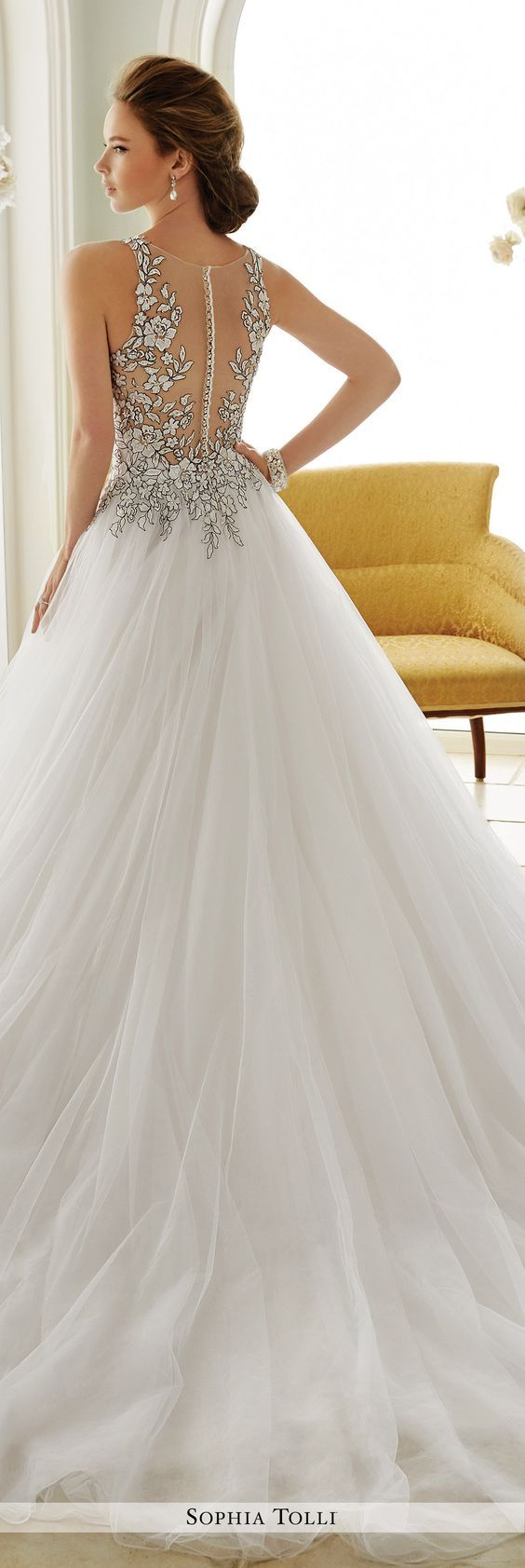 Sophia tolli fall 2016 wedding gown collection style no for Sophia tulle wedding dress