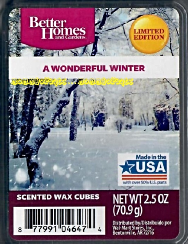 Better Homes And Gardens A Wonderful Winter