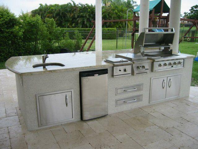 Florida Outside Kitchens South Florida Outdoor Kitchen Design And Construction Outdoor Kitchen Outdoor Kitchen Design Kitchen Design