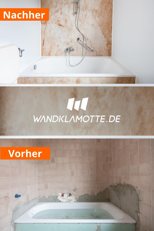 Do It Yourself Fur Dein Bad In 2020 Duschruckwand Alte Fliesen Dusche