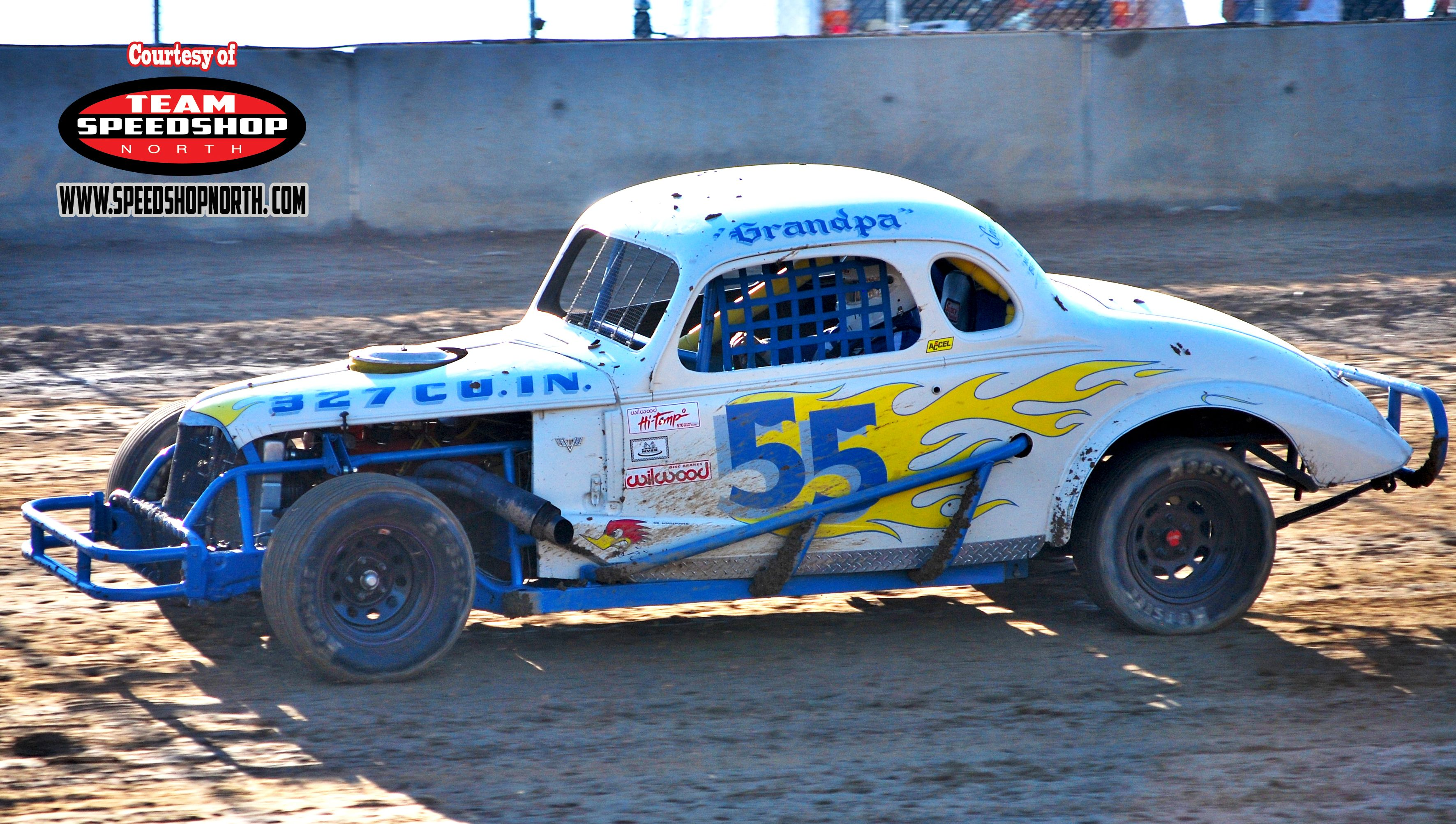 Early 1960\'s we sponsored \'dirt track racing\' | VINTAGE RACE CARS ...