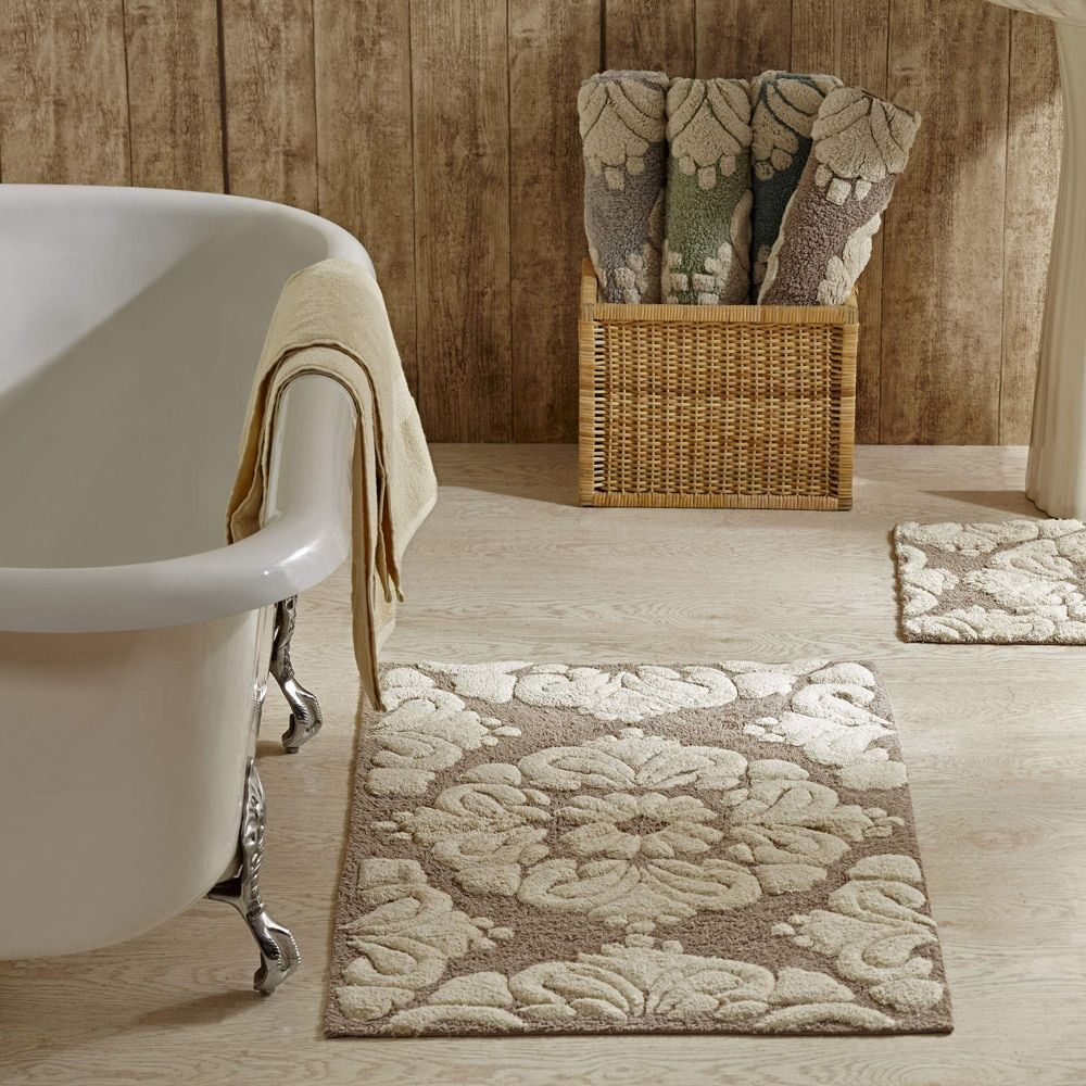 how to wash bathroom rugs with towels