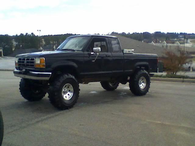 1991 Ranger 9 Lift On 38 S Fs Ft Ford Ranger Truck Ford Trucks Ford Ranger