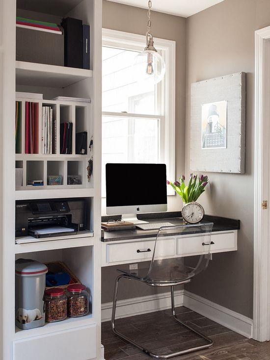 home office pequeno no quarto (2) Home Office  ~ Transformar Home Office Em Quarto De Bebe