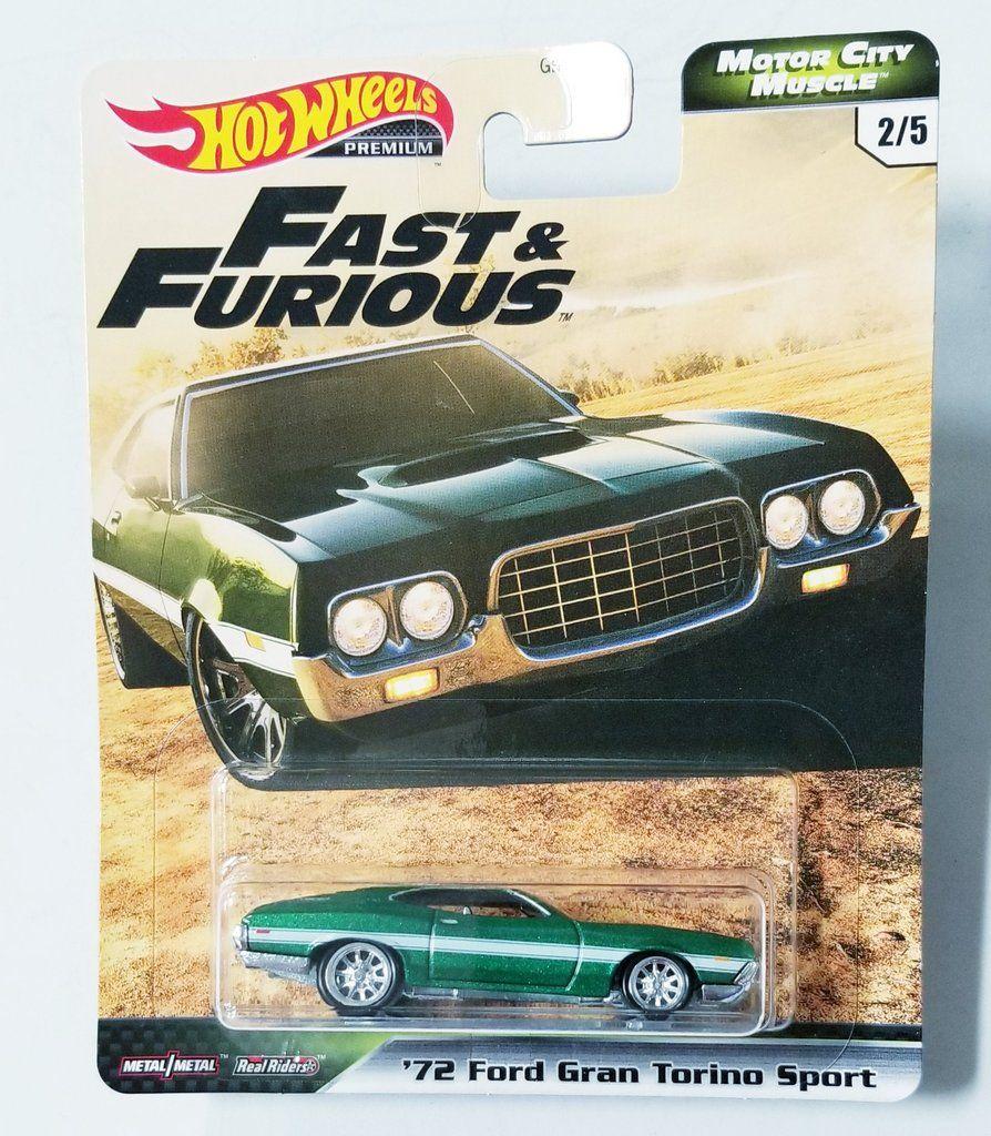 Hot Wheels Premium Real Riders Motor City Muscle Fast /& Furious '61 Impala