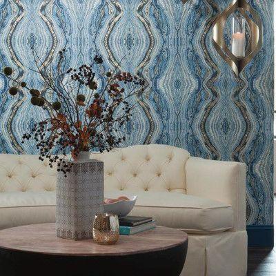 Kashmir Kaleidoscope Abstract Wallpaper Jati Room In 2019