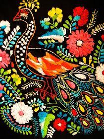 Aida Coronado Mexico Embroidery Dresses: I Love Mexico spring days