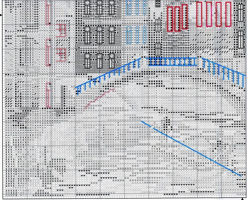 Схема вышивки Венеция (RTO) 3 из 4