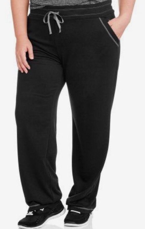 25426ed2322c7 DANSKIN NOW RELAXED FIT ACTIVE WORKOUT YOGA PANTS - BLACK - PLUS SIZE 4X  (26/28) #DanskinNow #CasualPants