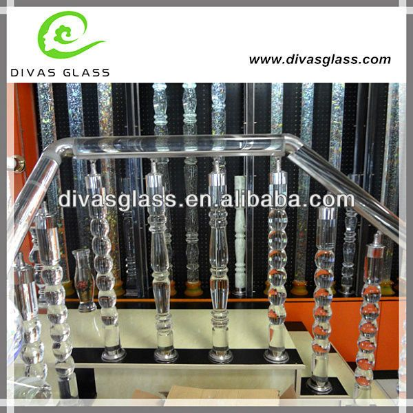 Best Modern Clear Glass Handicap Stair Railings 10 100 Trappen 640 x 480